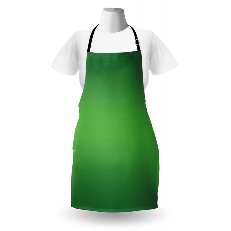 Mutfak Önlüğü Yeşilin Coşkusu