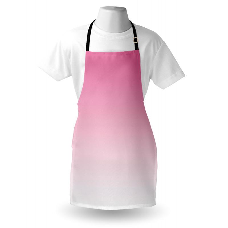 Mutfak Önlüğü Pembe Beyaz Desenli