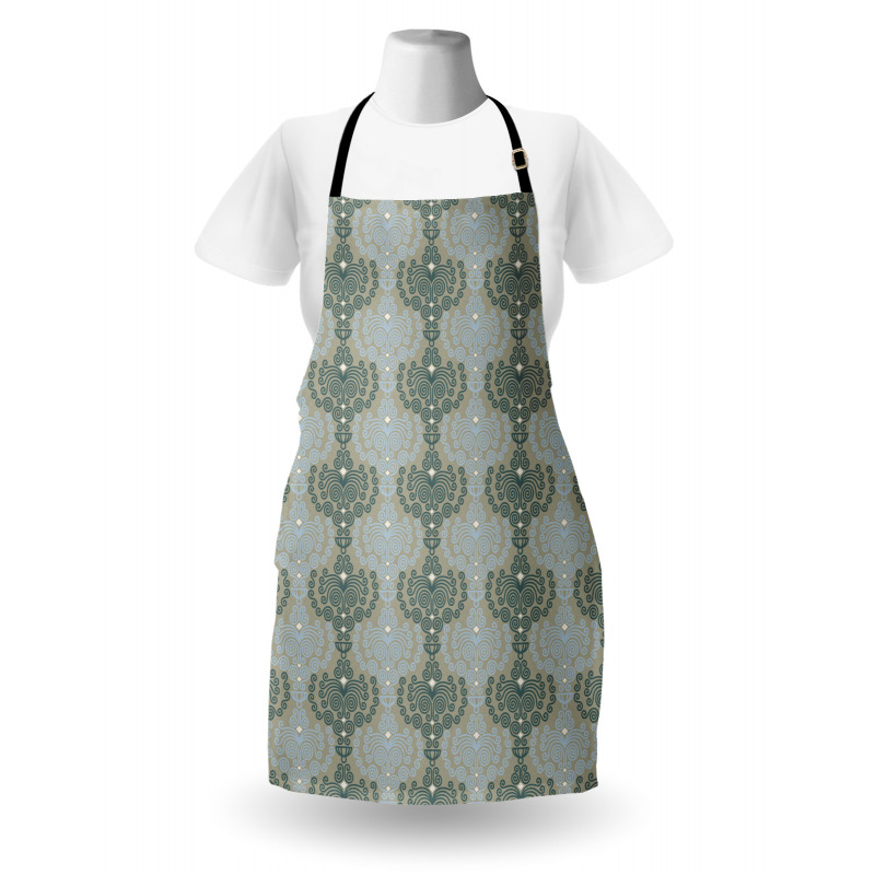 Abstract Art Floral Apron