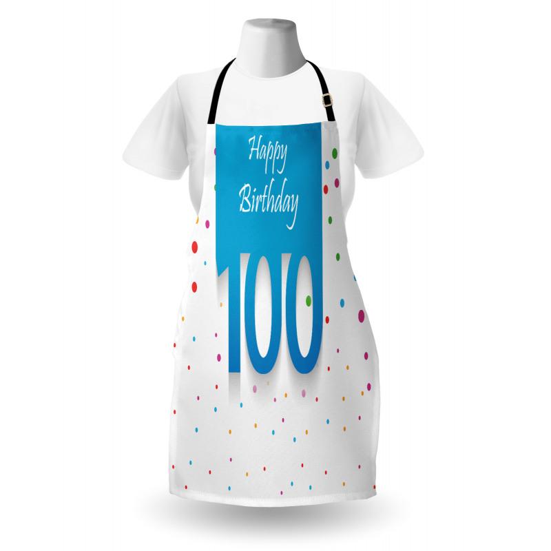 100 Years Birthday Apron