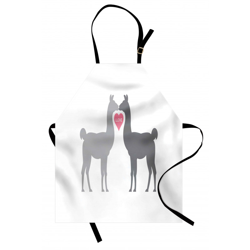 2 Animals in Love Apron
