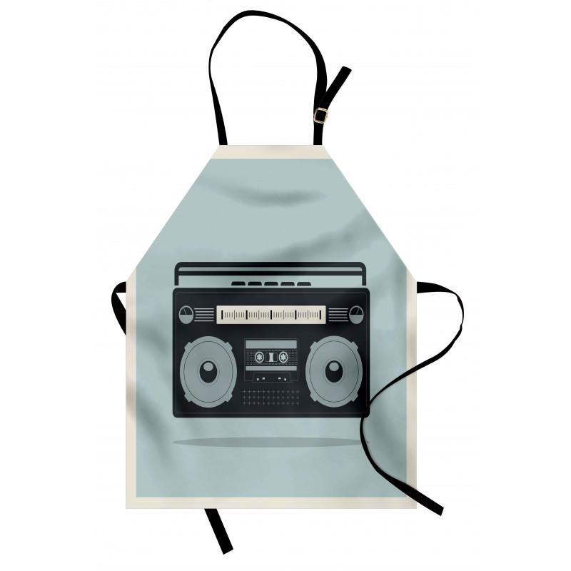 1980s Boombox Image Apron