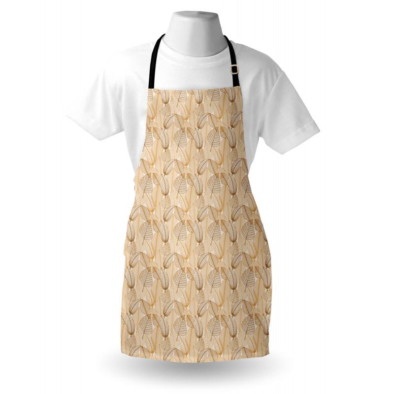 Bahar Mutfak Önlüğü Güz Mevsiminin Yapraklarını Anımsatan Görsel