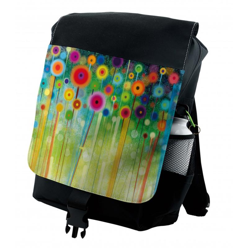 Abstract Art Dandelion Backpack