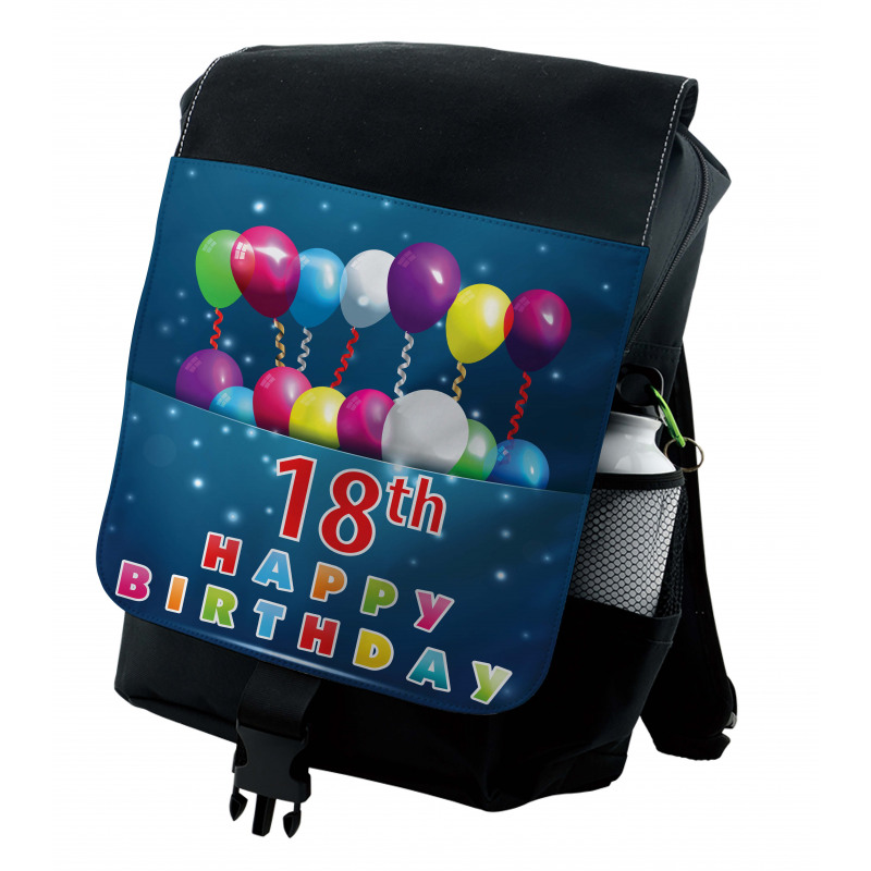 18 Birthday Balloons Backpack