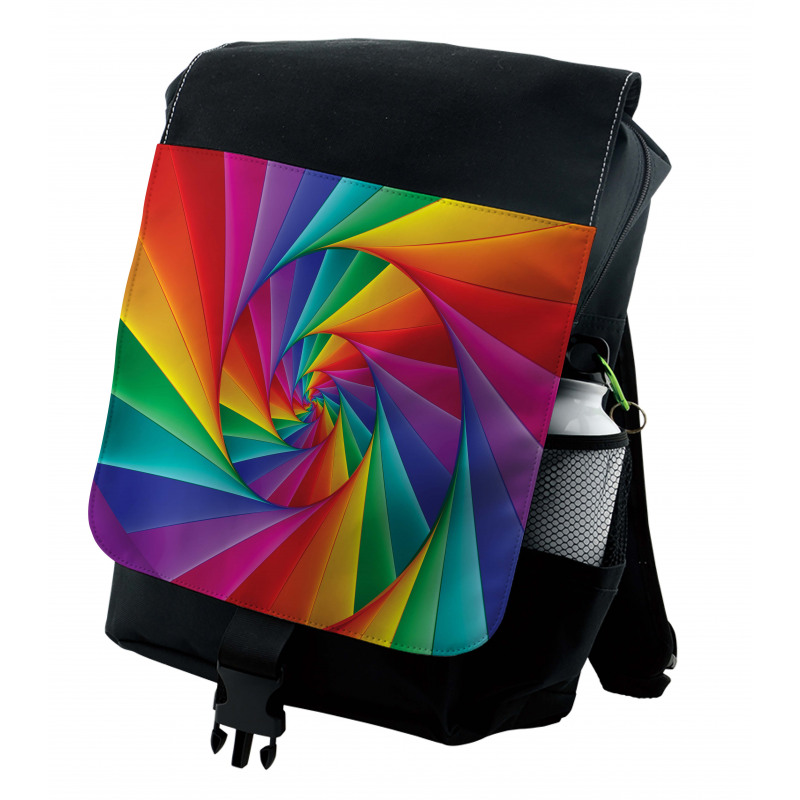 Abstract Art Vivid Swirl Backpack