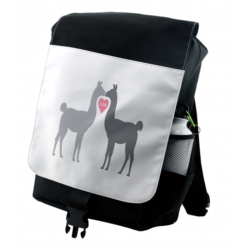 2 Animals in Love Backpack