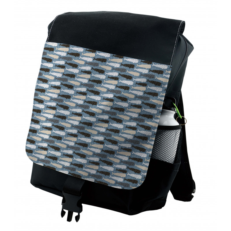 Abstract Art Silhouettes Backpack