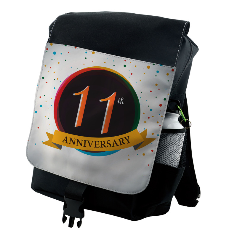 11 Year Retro Style Backpack