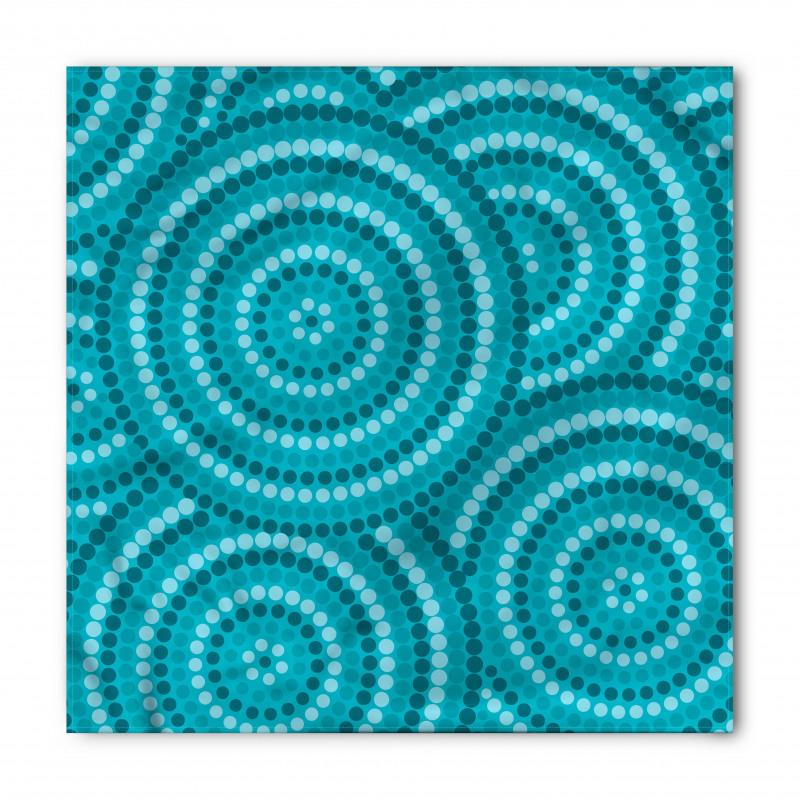 Abstract Australian Dots Bandana