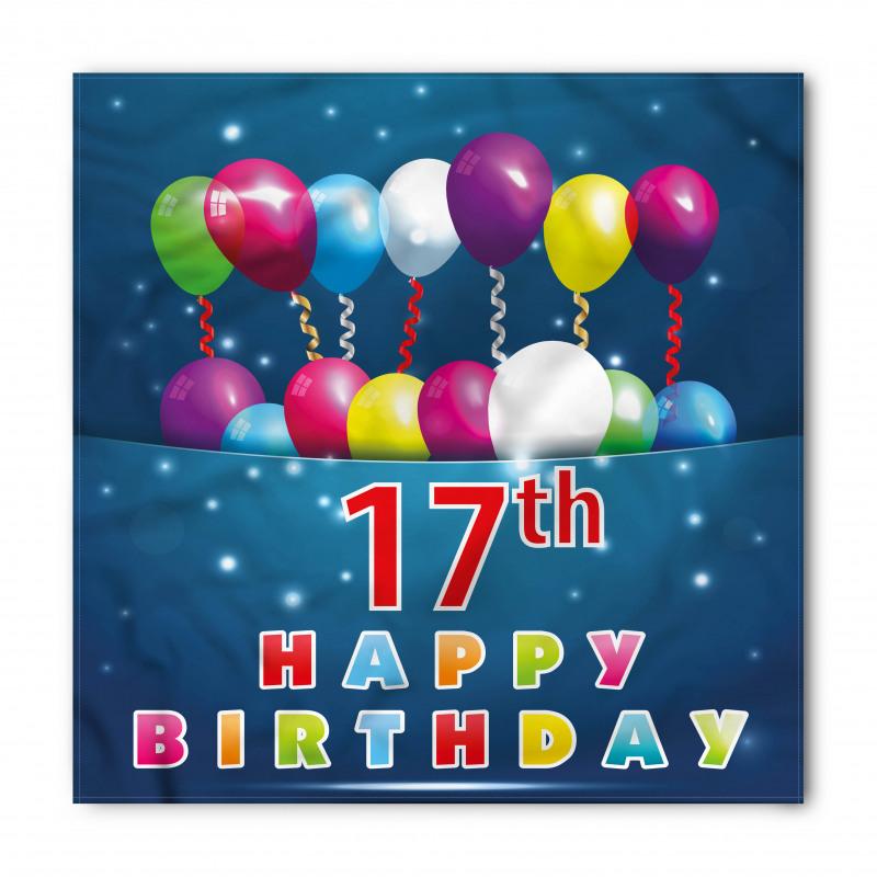 17 Birthday Bandana