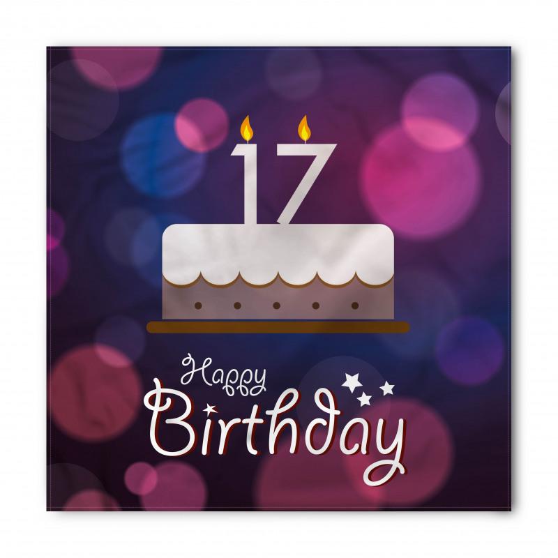 17 Party Cake Bandana