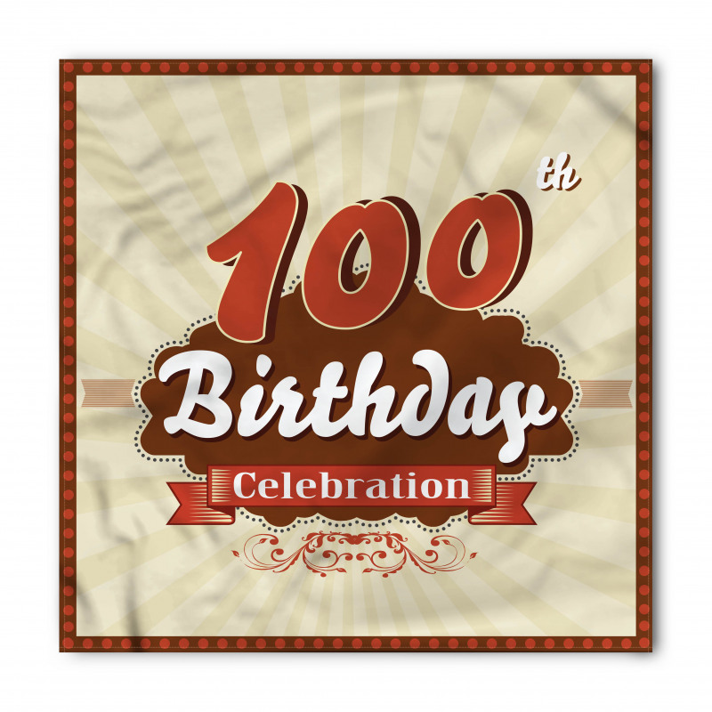 100 Old Party Invite Bandana