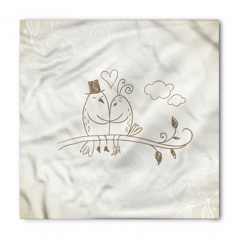 2 Birds Love Bandana