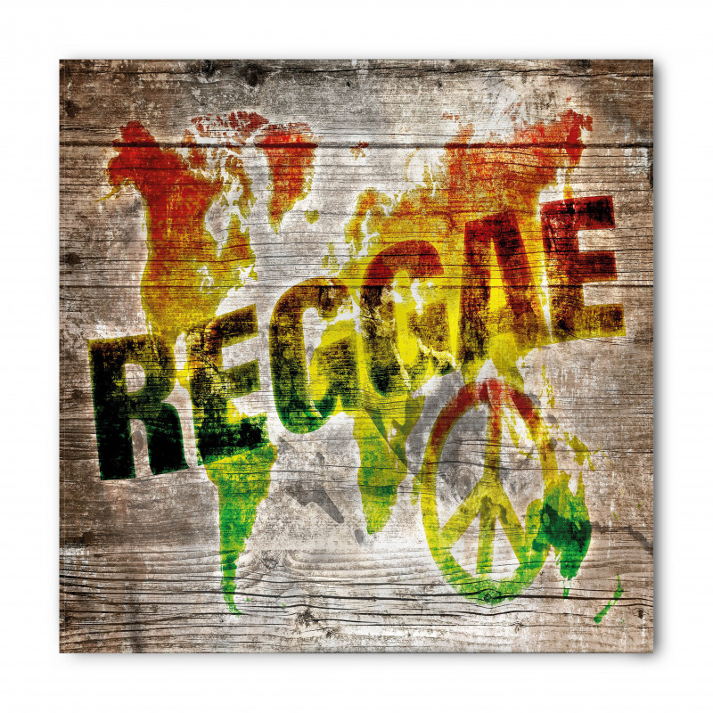 Afrika Bandana Reggae Haritası