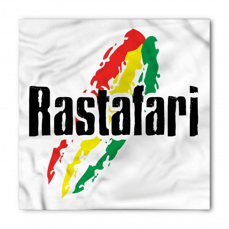 Afrika Bandana Rastafaryan Desenli