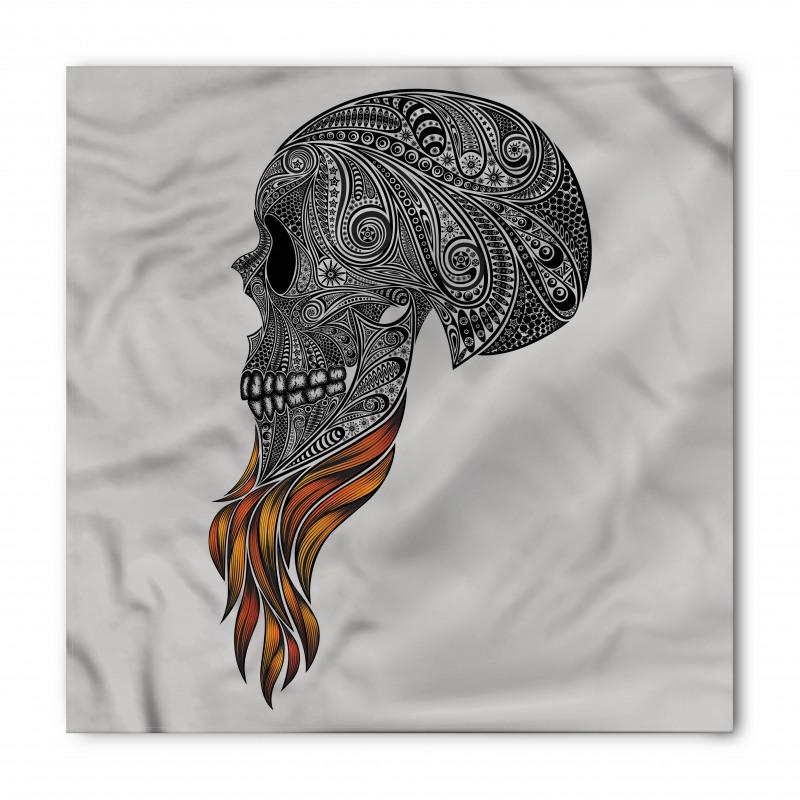 Abstract Art Skull Beard Bandana