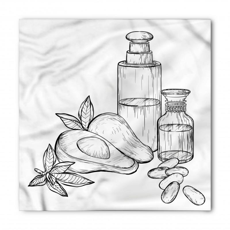 Avokado Bandana Tamamen Doğal Meyve ve Ondan Yapılan İçecek