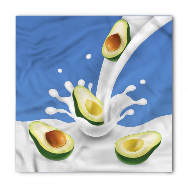 Avokado Bandana İçi Kabuklu Sağlıklı Meyve Sütten Akıyor