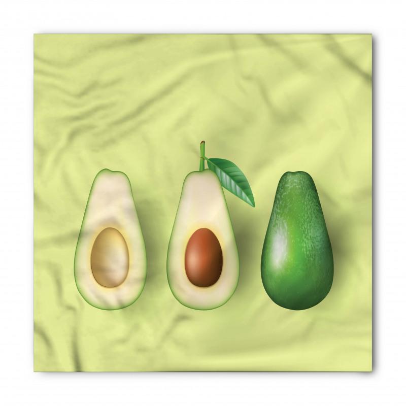 Avokado Bandana İçi Sert Çekirdekli Sağlıklı Meyve Model