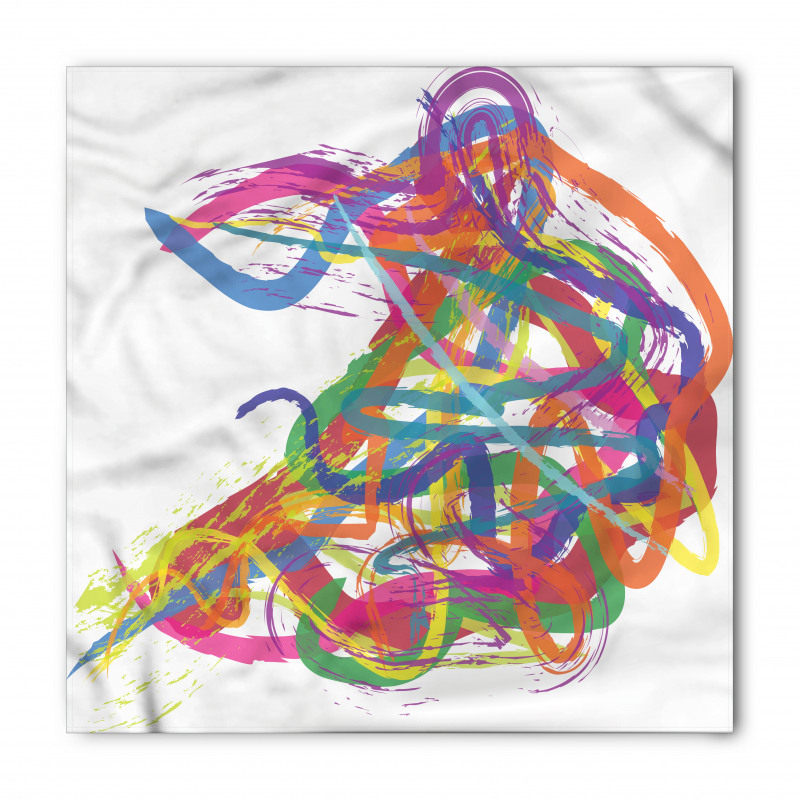 Abstract Art Dancer Bandana