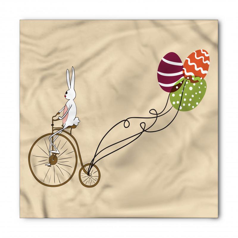 Bandana Bisikletli Tavşan