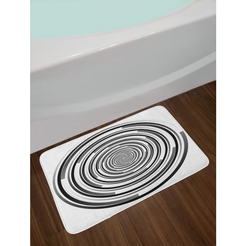 Abstract Art Spirals Bath Mat
