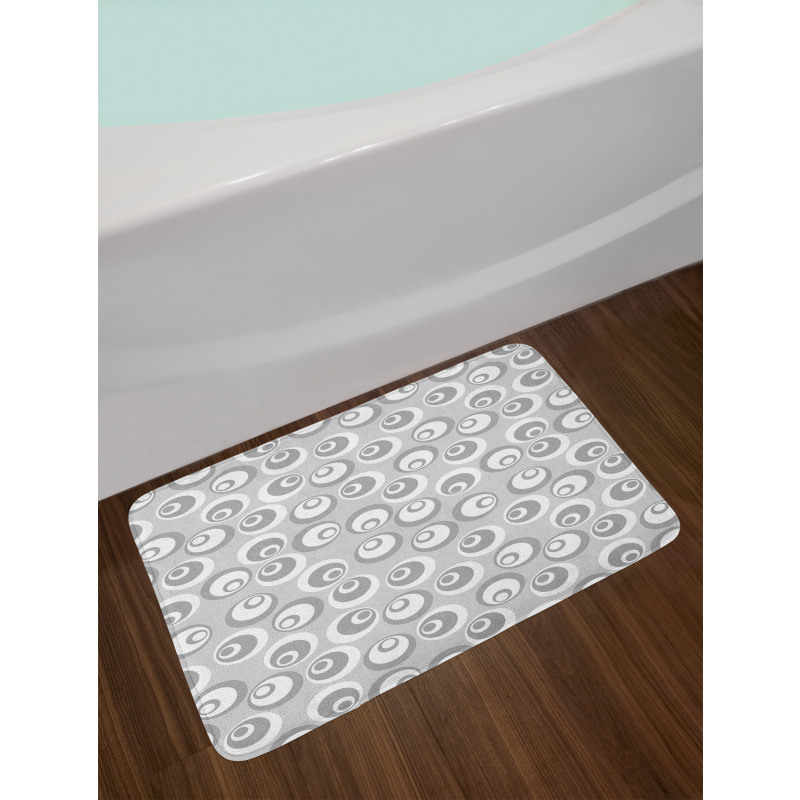 Abstract Art Modern Bath Mat