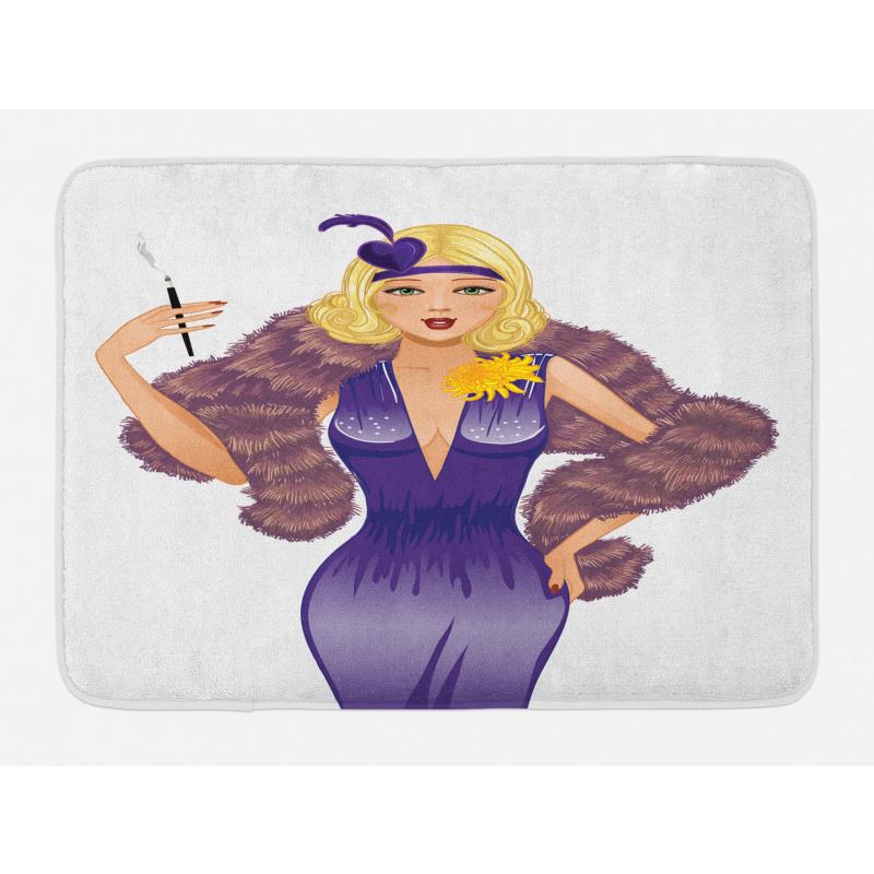 1930s Style Blondie Bath Mat