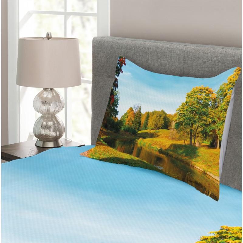 Natural Forest Park Bedspread Set