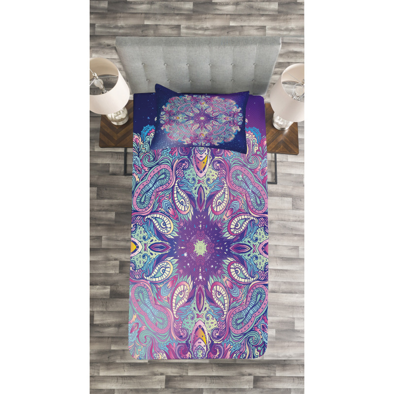Cosmos Art Space Bedspread Set