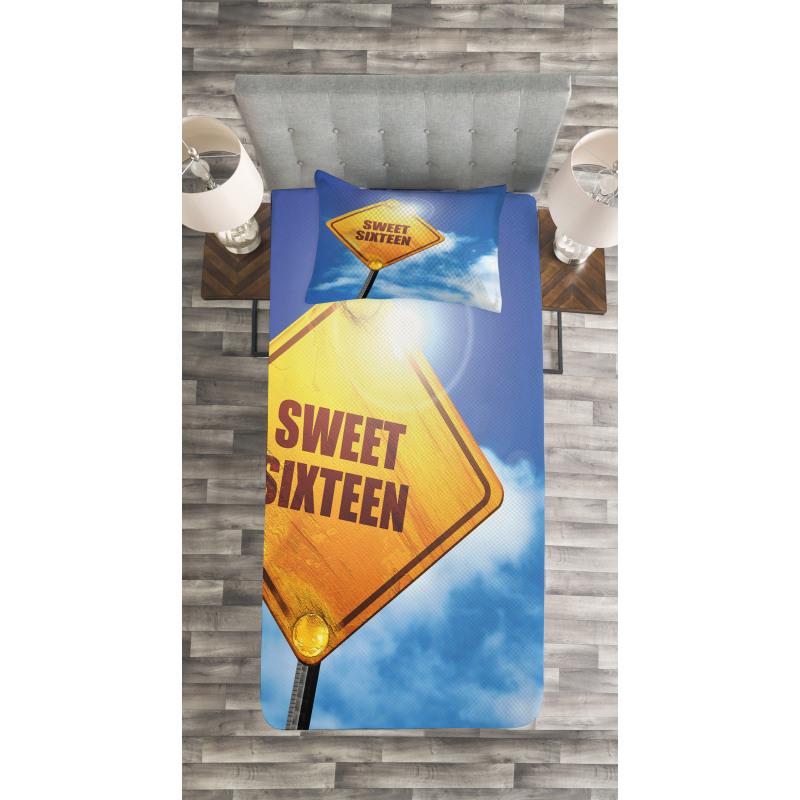 16 Road Bedspread Set