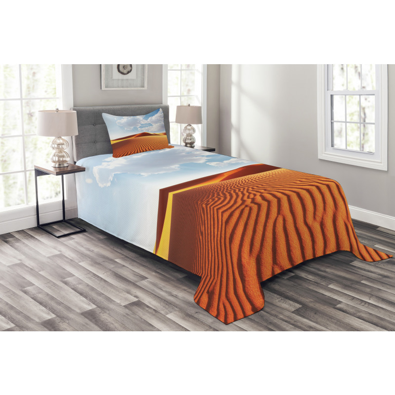 Landscape with Dunes Bedspread Set
