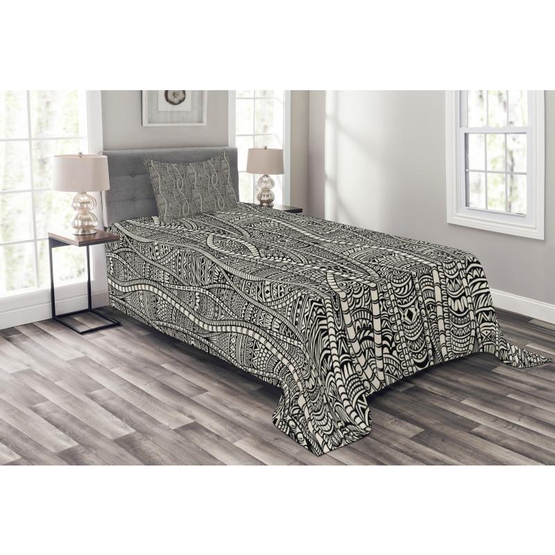 Ethnic Bedspread Set