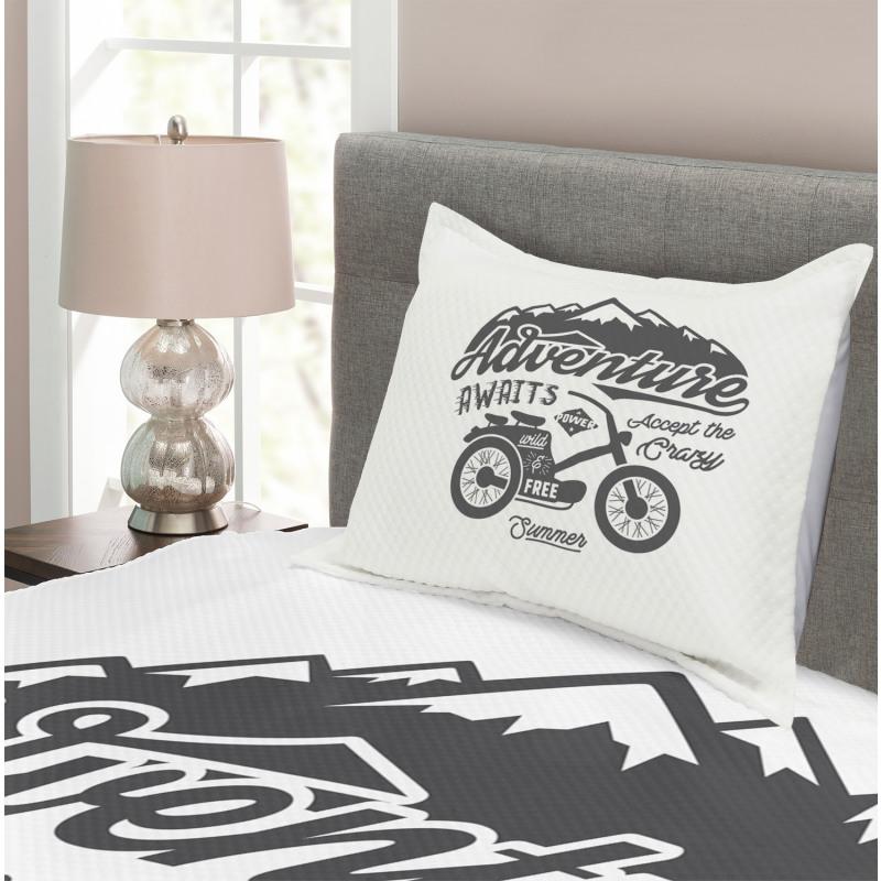 Mountains Bike Bedspread Set