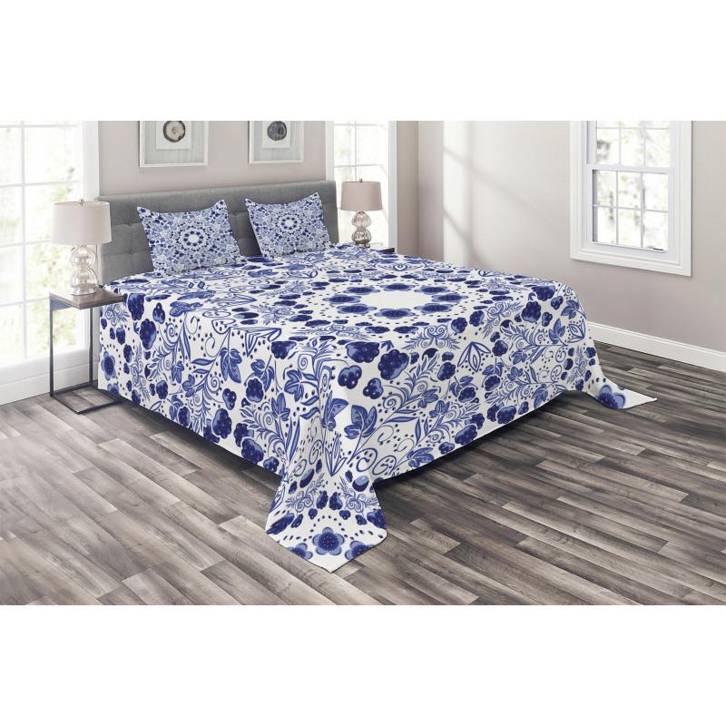 Oriental Boho Bedspread Set