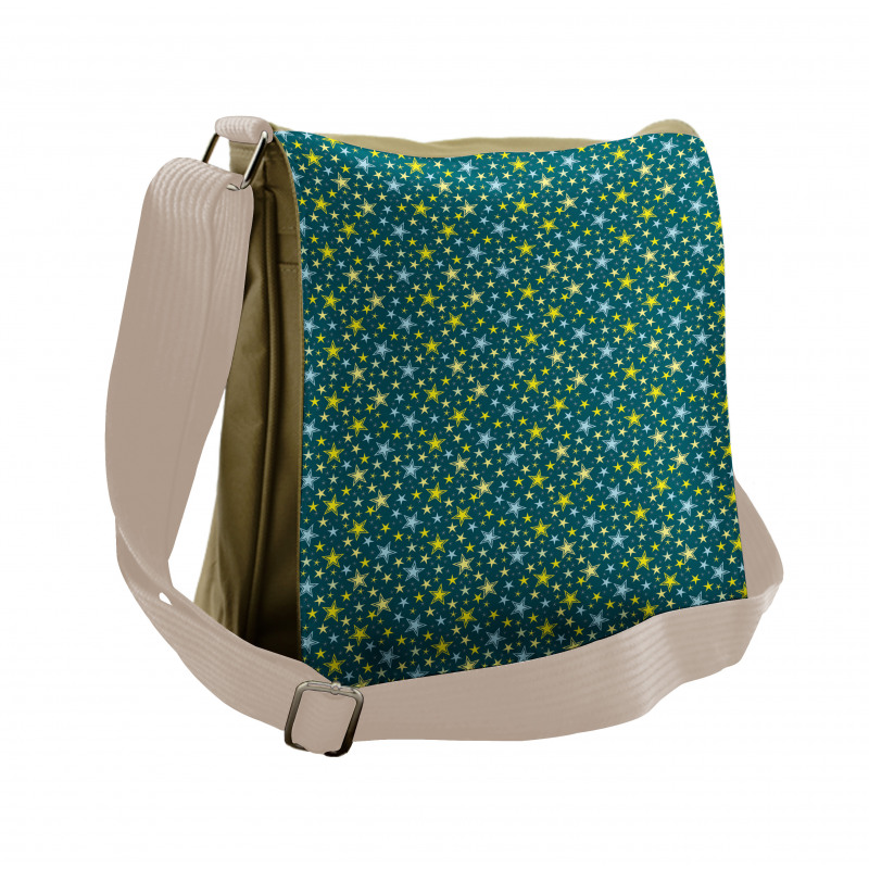 Abstract Art Modern Ornament Messenger Bag