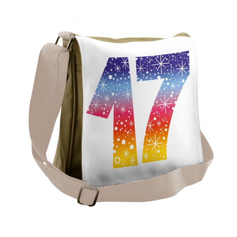 17 Party Messenger Bag