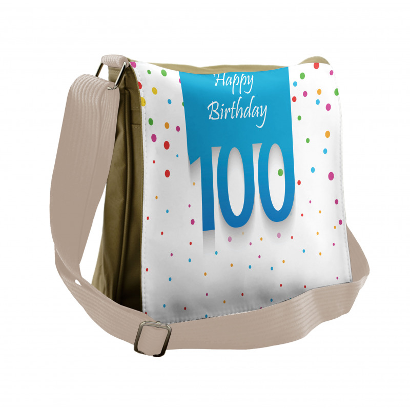 100 Years Birthday Messenger Bag