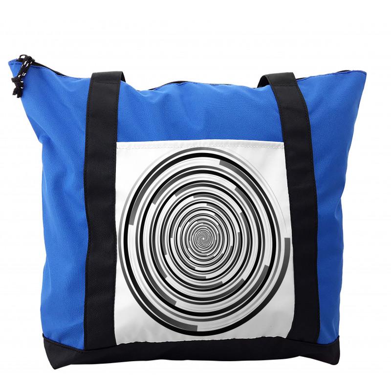 Abstract Art Spirals Shoulder Bag