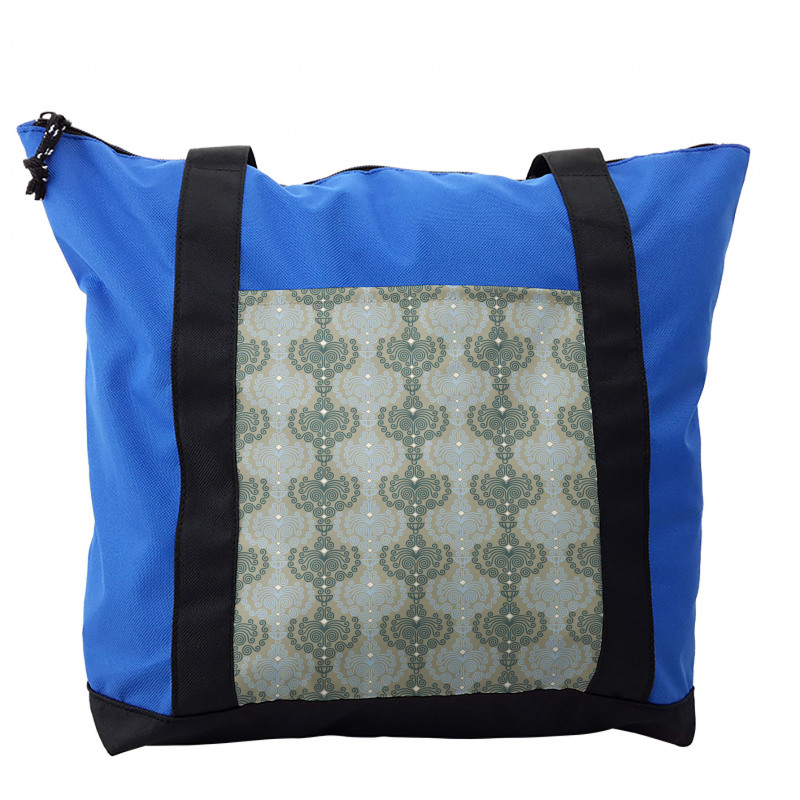 Abstract Art Floral Shoulder Bag