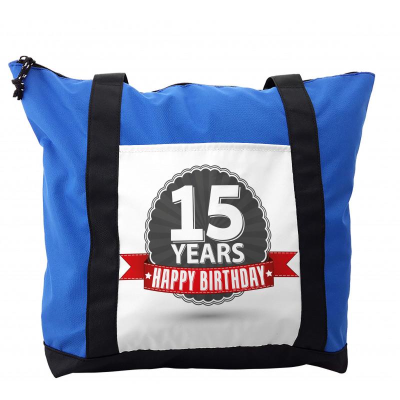 15 Emblem Shoulder Bag