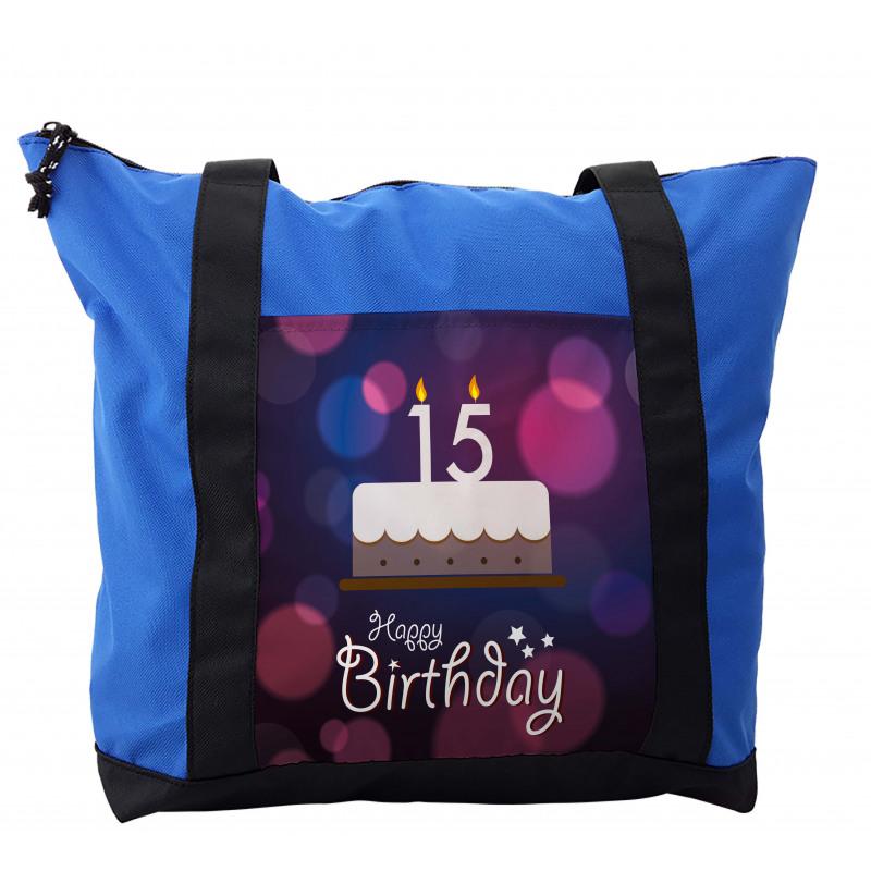 15 Birthday Cake Shoulder Bag