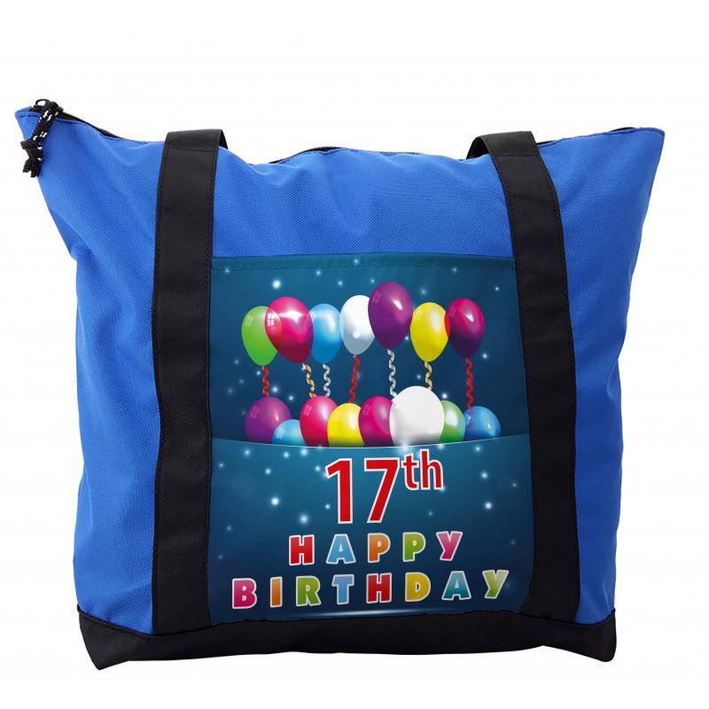 17 Birthday Shoulder Bag