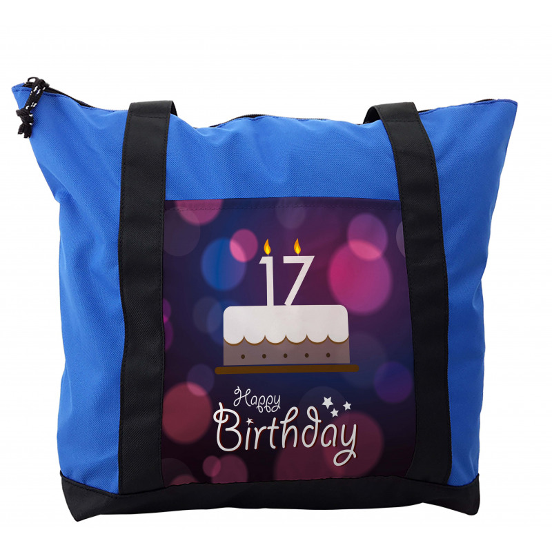 17 Party Cake Shoulder Bag