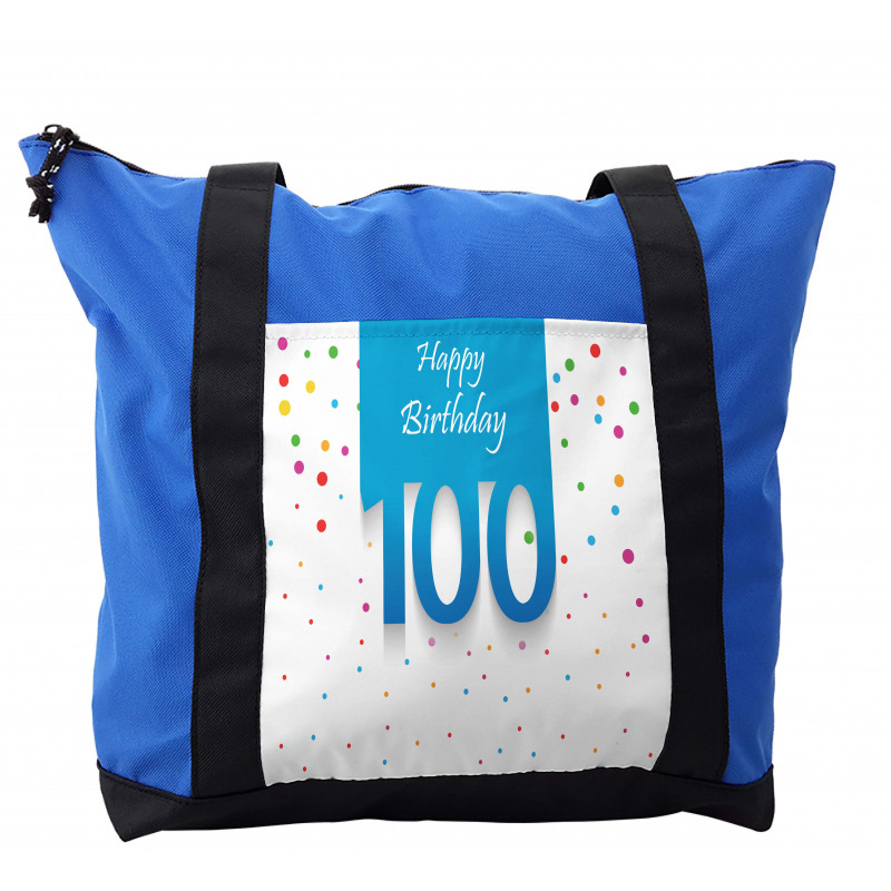 100 Years Birthday Shoulder Bag