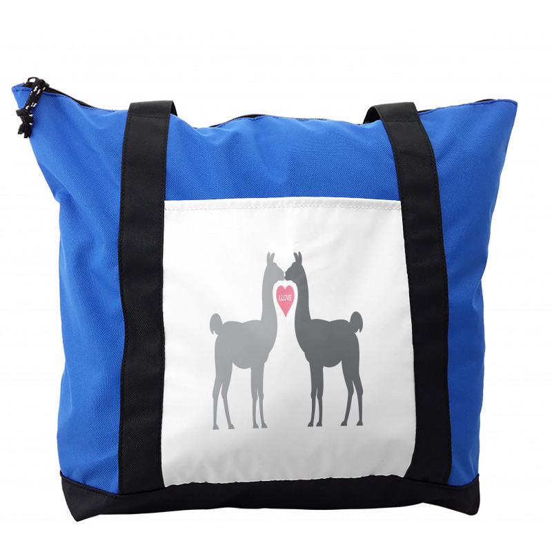 2 Animals in Love Shoulder Bag