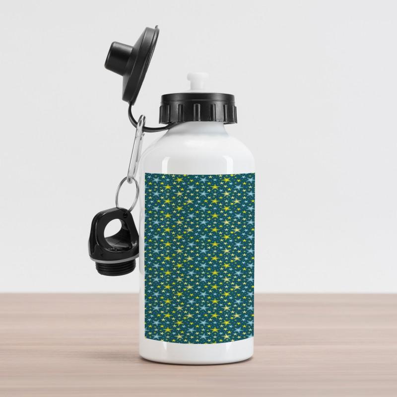 Abstract Art Modern Ornament Aluminum Water Bottle