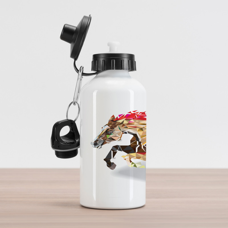 Abstract Art Wild Horse Aluminum Water Bottle