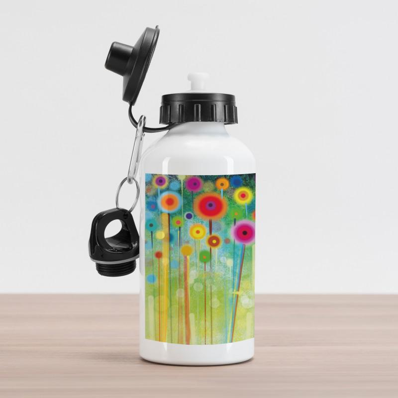 Abstract Art Dandelion Aluminum Water Bottle